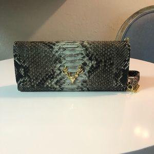 Taxidermy Python bag